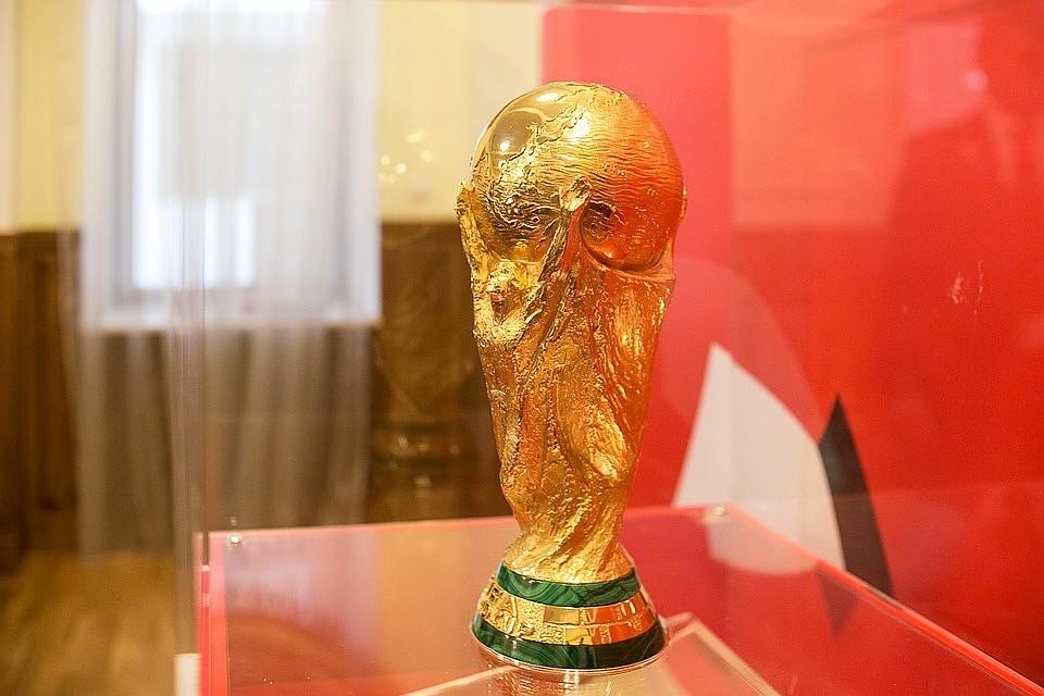 13мая вСамару прибудет Официальный Кубок ЧМ-2018 FIFA