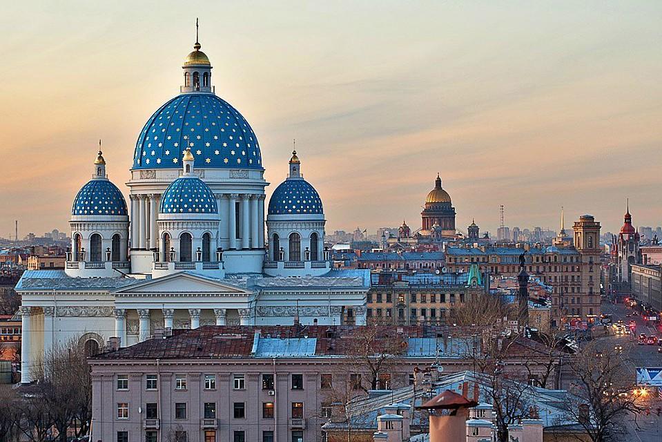 Патриарх Кирилл освятил Свято-Троицкий Измайловский храм