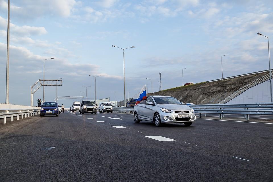 Владимир Путин лично проверил качество Крымского моста