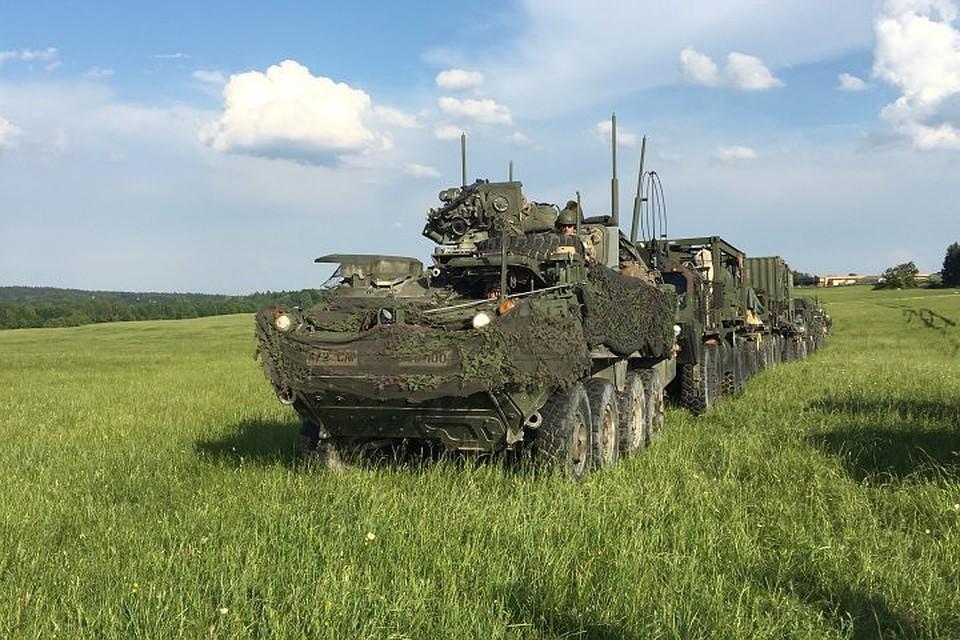 ВПольше и государствах Балтии начались учения НАТО Saber Strike