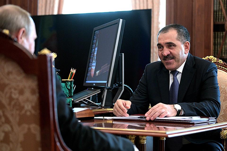 Евкуров пригласил президента на закладку завода по производству соков