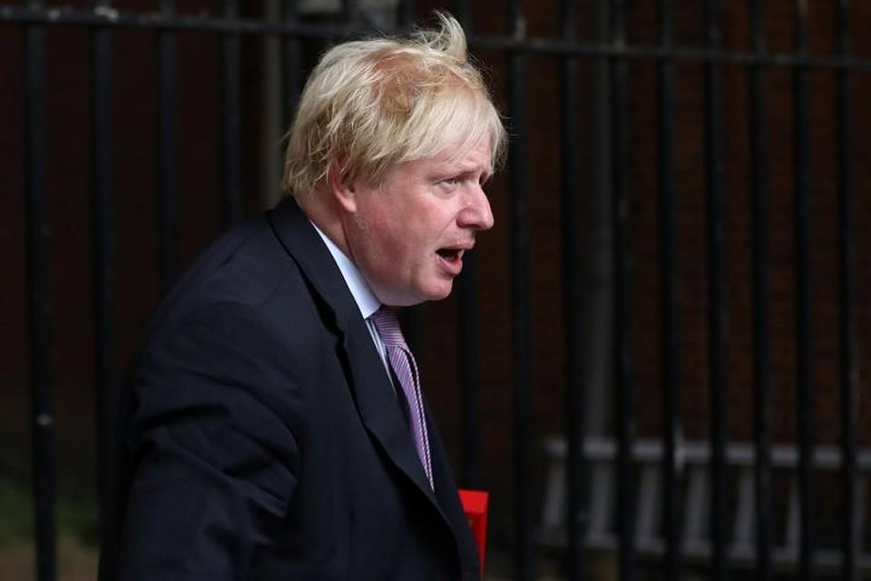Теперь уже бывший министр иностранных дел Великобритании Борис Джонсон