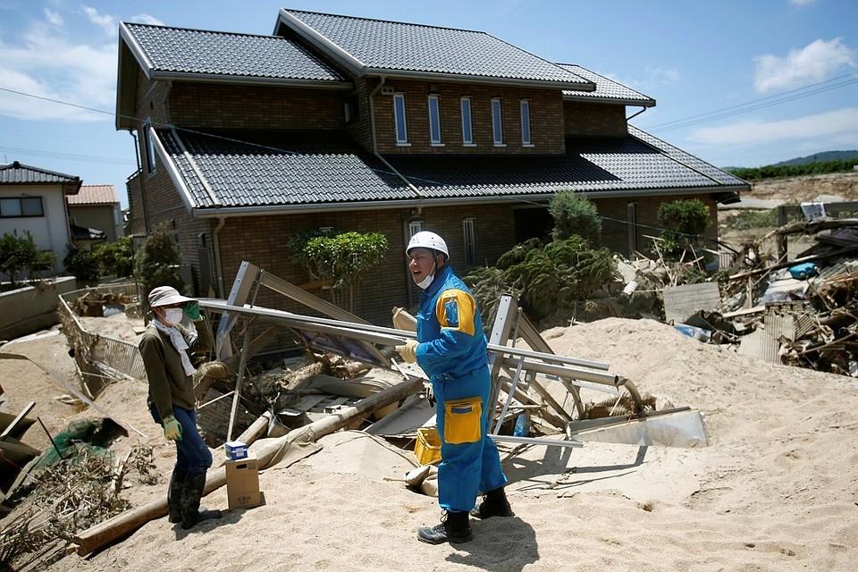 В КНР объявили красный уровень опасности из-за приближения тайфуна «Мария»