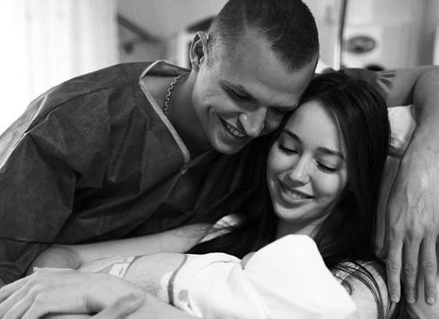 Супруга Дмитрия Тарасова родила дочь