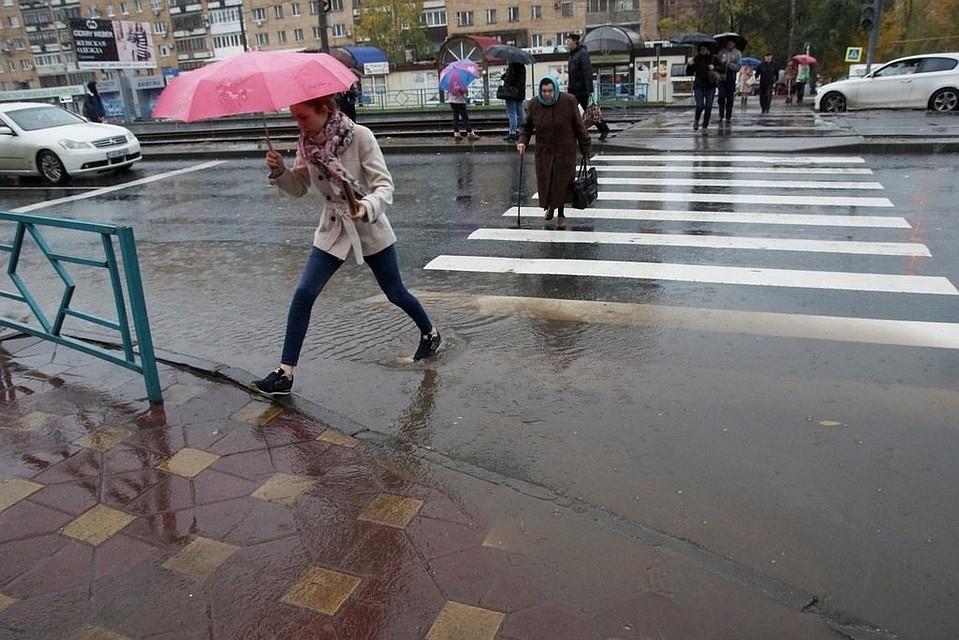 Дождь и гроза могут пройти и в воскресенье