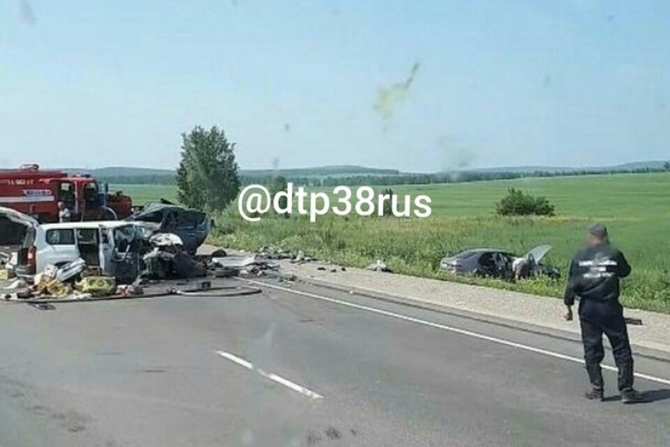 Один человек умер, 4 пострадали вДТП вЗаларинском районе