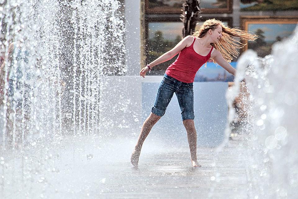 Суббота стала самым жарким днем в столице сначала года
