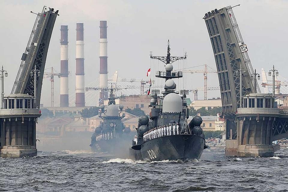 Путин подписал указ оГлавном военно-морском параде вПетербурге