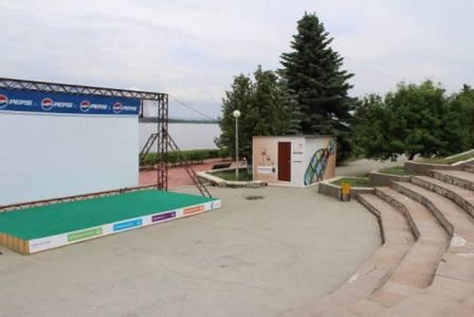 Кинотеатр под открытым небом вСамаре возобновил работу