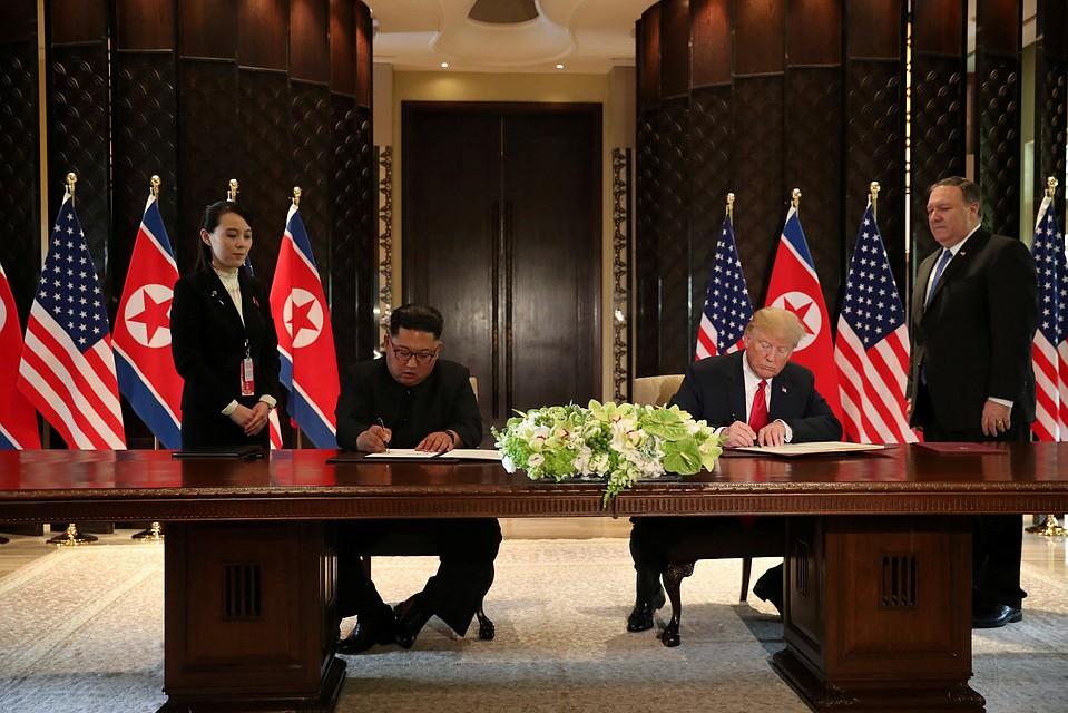 Трамп получил новое письмо отКим Чен Ына
