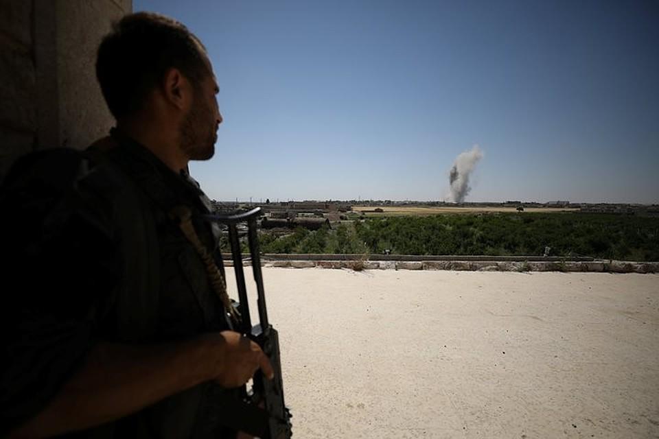 Сирийские военные проинформировали обуничтожении израильских беспилотников под Дамаском