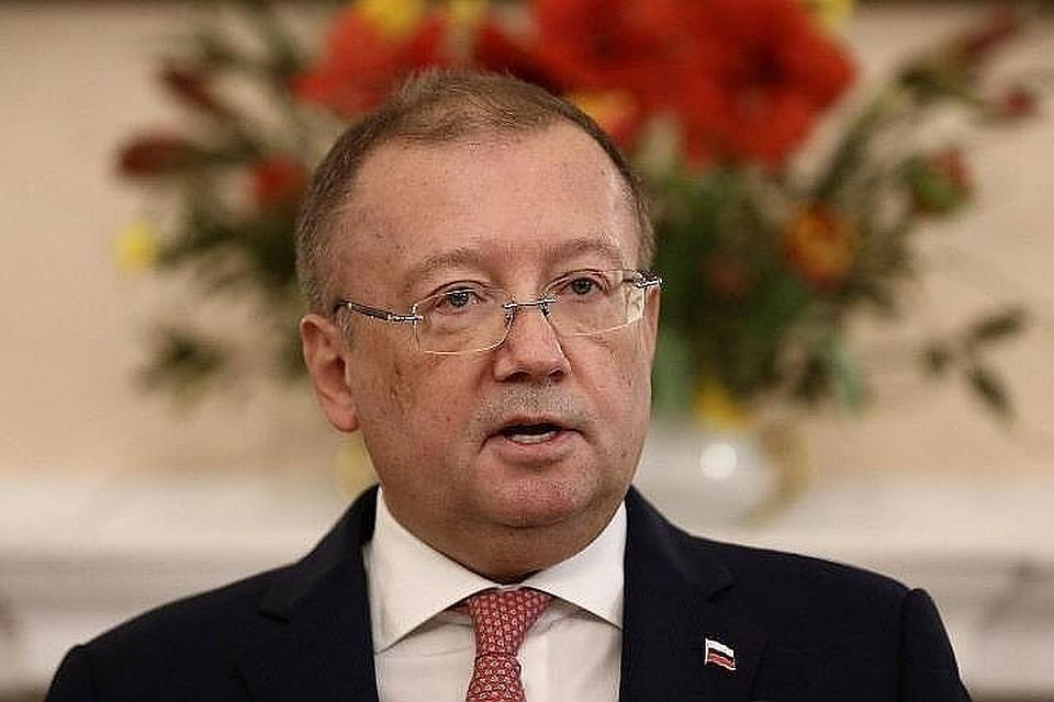 Посол Российской Федерации вСоединенном Королевстве Великобритании обвинил Лондон вуничтожении улик поделу Скрипалей