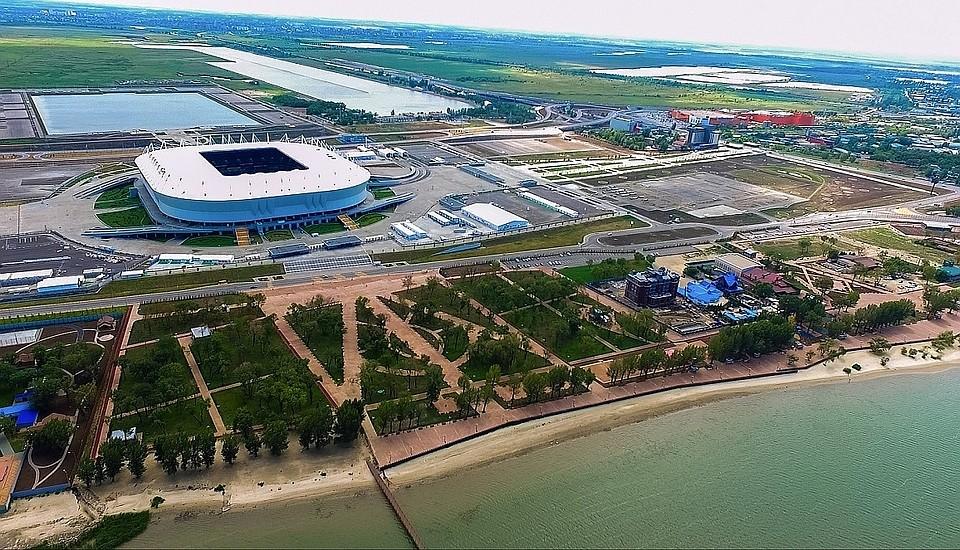 Огромную вышку хотят построить наЗеленом острове вРостове-на-Дону