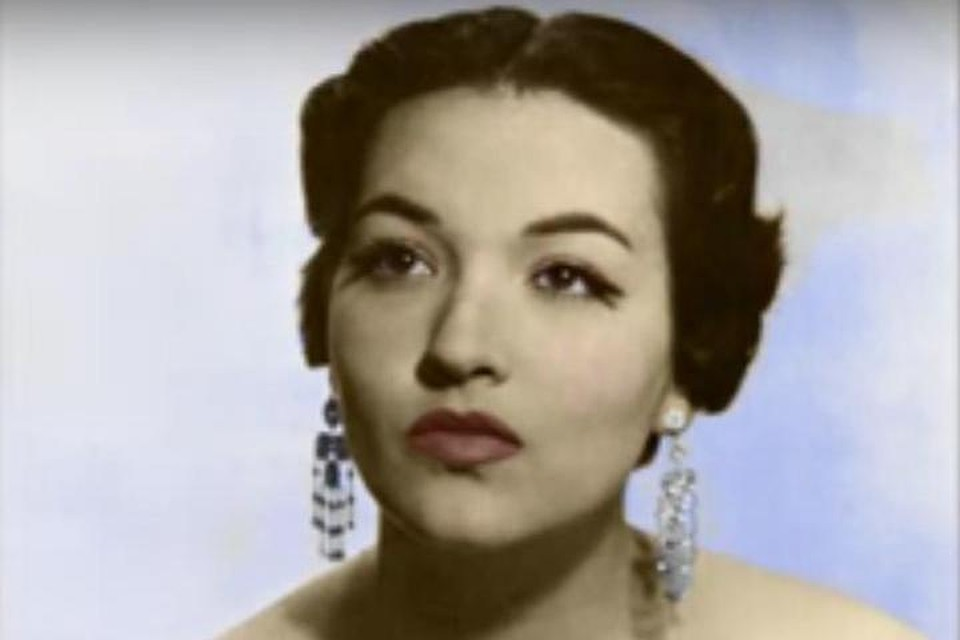 Американская джазовая певица и актриса Моргана Кинг