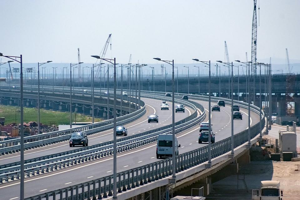 Крымский мост вернулся кработе вштатном режиме послеЧП
