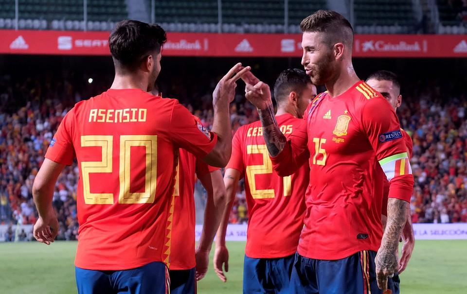 Испания обыграла Хорватию вматче Лиги наций