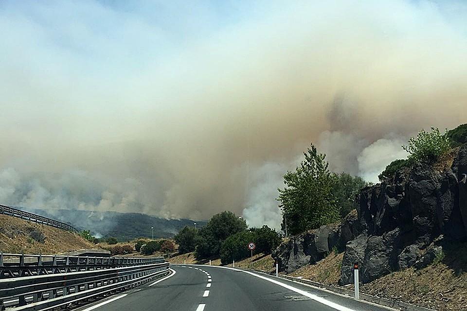 ВТоскане из-за лесного пожара эвакуировали 700 человек
