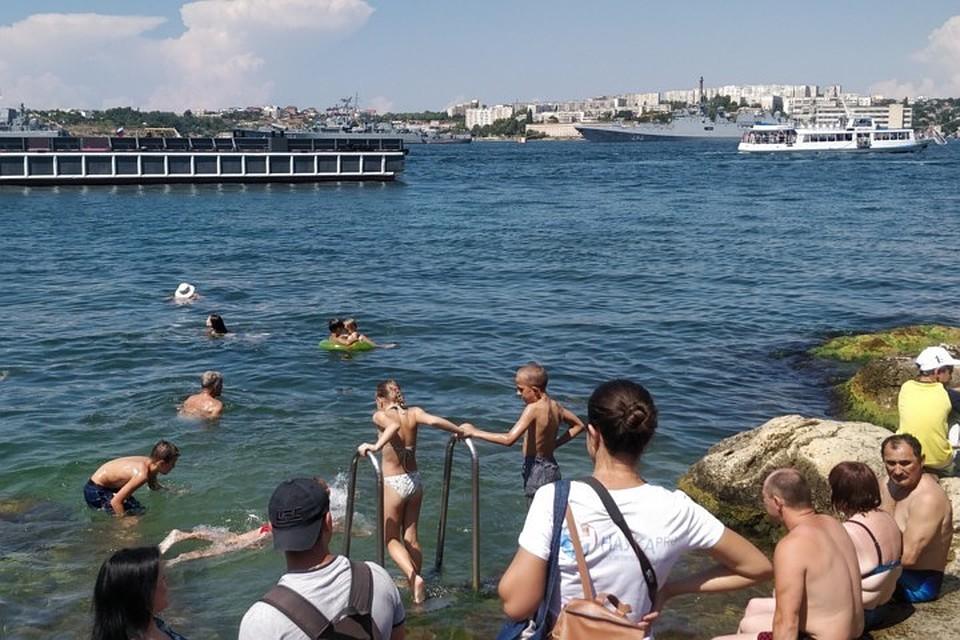 Крым поставил исторический рекорд поотдыху иностранцев