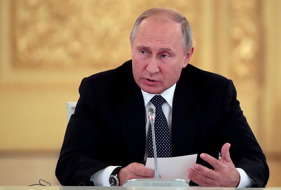 Путин: рост военных пенсий превысит 6% в 2019-ом году