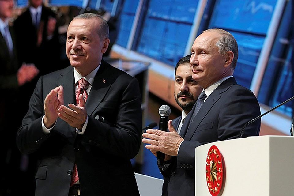 Чтобы не обижать стратегического партнера Владимир Путин полетел в Стамбул