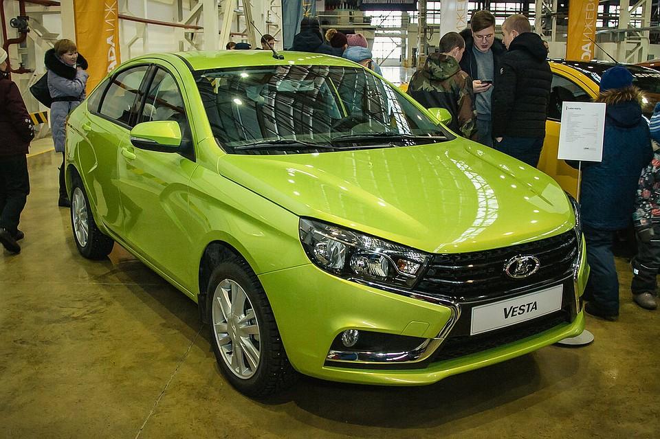 Ижевский автомобильный завод в 2018г. выпустит до130 тыс. авто