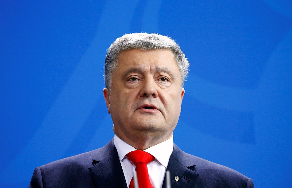 Зеленский призвал Порошенко оставаться президентом, ноне шоуменом