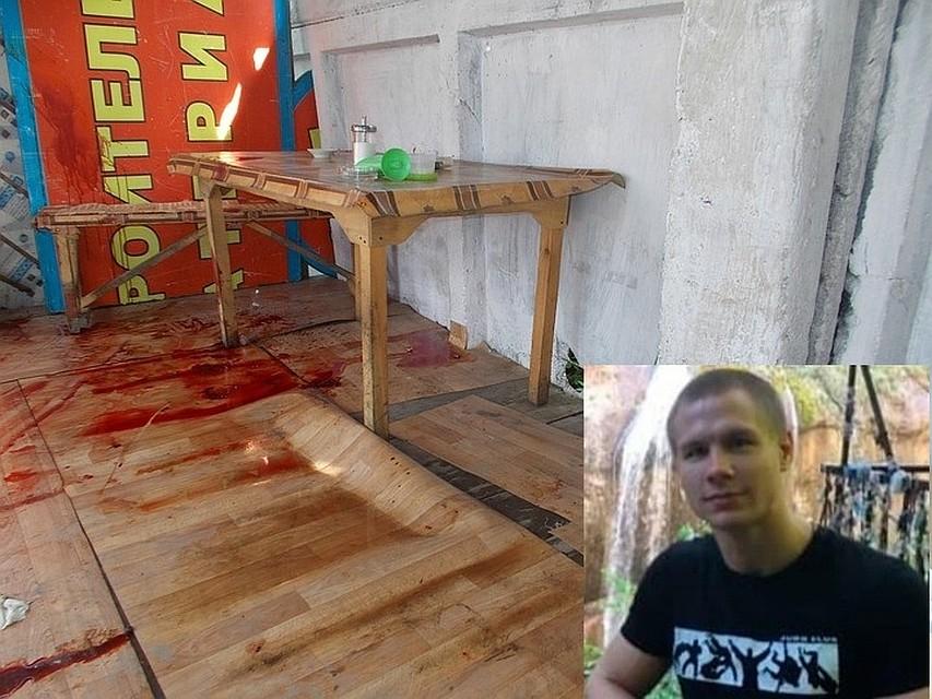 Именно здесь и погиб Евгений Кушнир