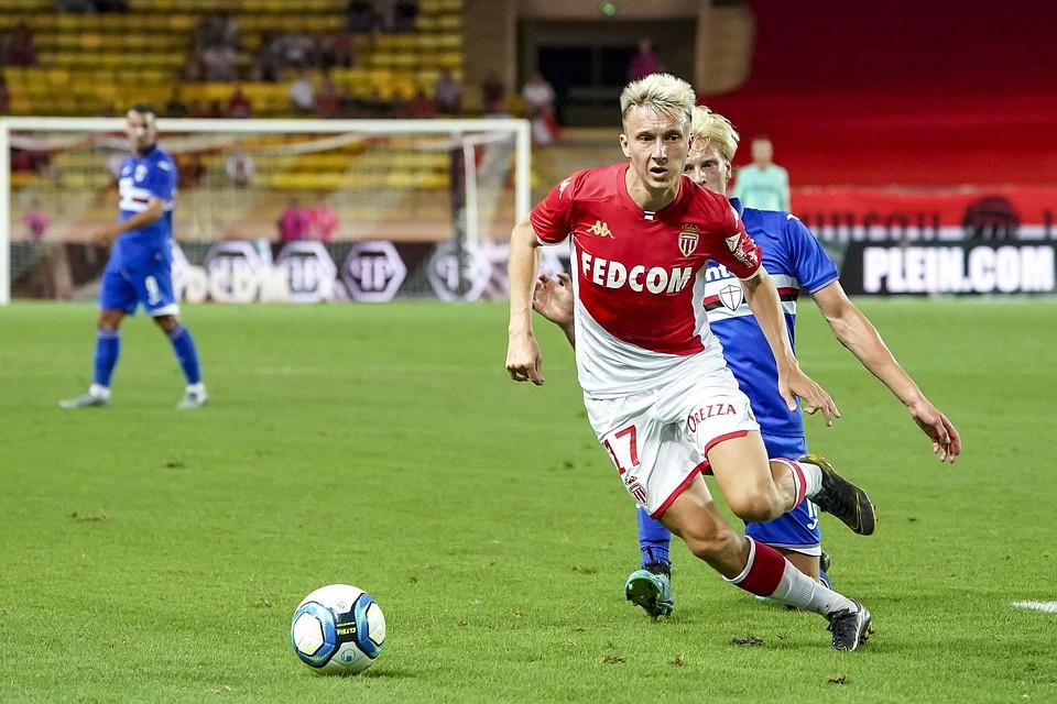 Александр Головин сыграл за'Монако в матче 2 тура чемпионата Франции по футболу