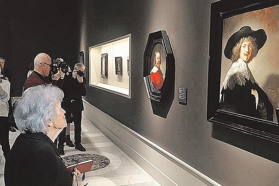 Изгалереи встолице Англии  пытались украсть две картины Рембрандта