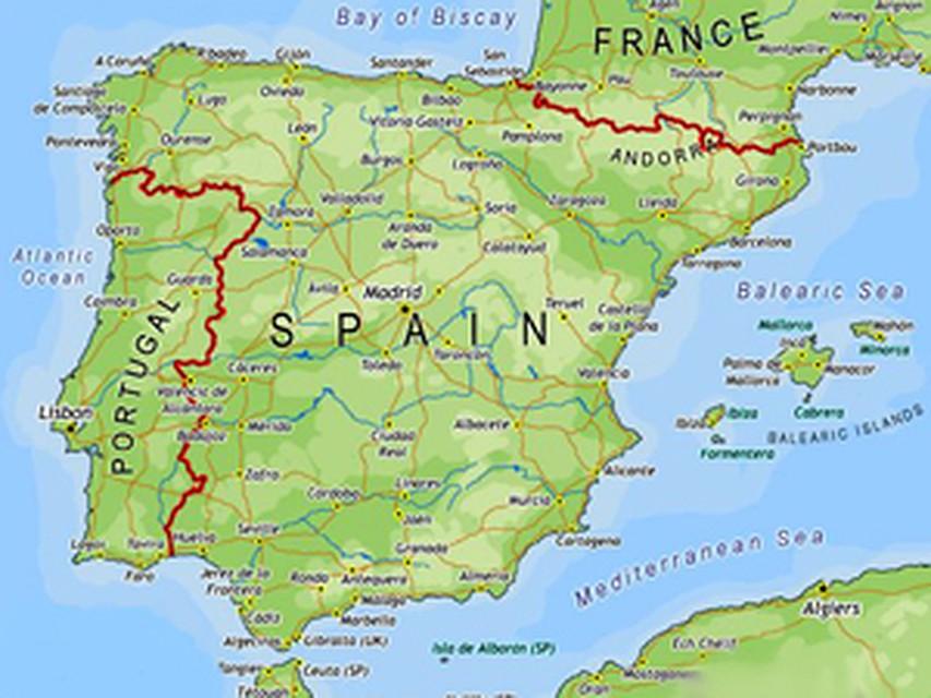 Недвижимость испания на карте испании