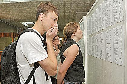 Абитуриентов-2012 волнует, какой проходной балл будет в этом году.