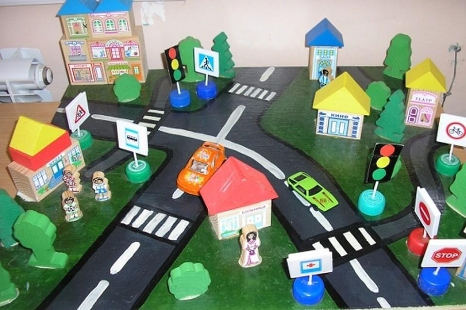Поделки для дорожного движения для детей