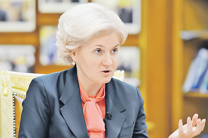 Ольга Голодец: «Чем больше зарплата и стаж, тем большей будет пенсия»