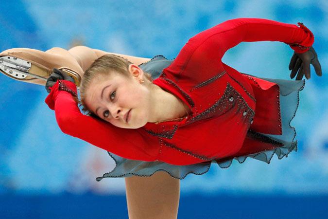 В воскресенье Юлия Липницкая одержала победу в произвольной программе командного турнира зимних Олимпийских игр в Сочи