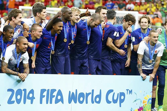 Голландцы впервые в истории стали бронзовыми призерами чемпионата мира
