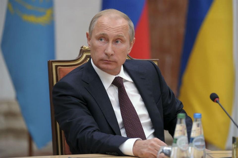 Владимир Путин в Минске: Россия будет делать все, чтобы восстановить мир на Украине