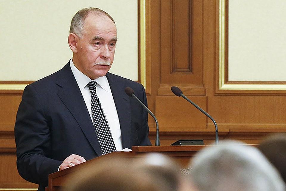 Директор Федеральной службы по контролю за оборотом наркотиков (ФСКН) Виктор Иванов.