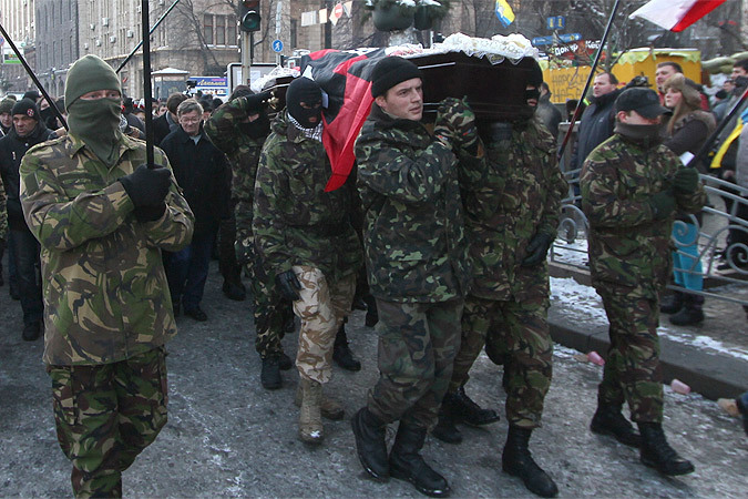 """Как заявили в МВД незалежной, """"убийства были нужны протестующим для эскалации конфликта и оправдания использования оружия"""""""