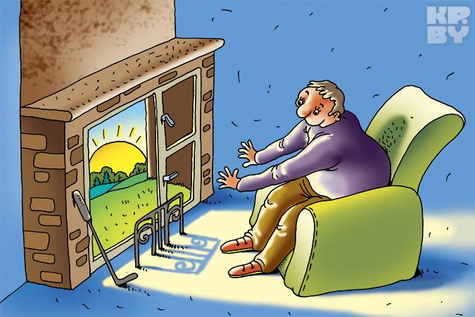 Если в квартире слишком жарко - это преступление!