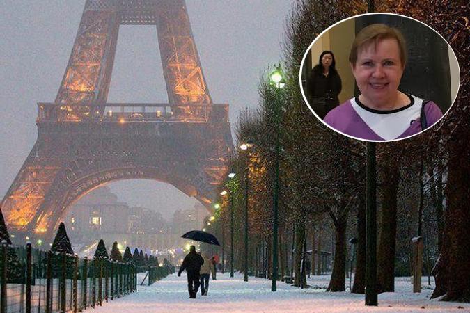 Лидия Ермошина съездила в долгожданный отпуск в Париж.