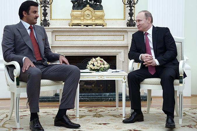 Картинки по запросу Инвестиционный фонд Катара и Путин