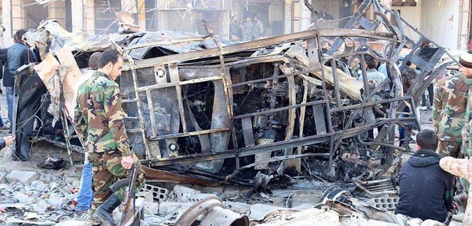 В пригороде Дамаска в Сирии результате терракта погибло более 50 человек