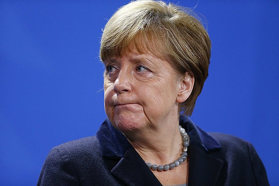 Меркель безоглядно поддержала политику США на Ближнем Востоке, втянула Германию в американскую деятельность по разрушению государств