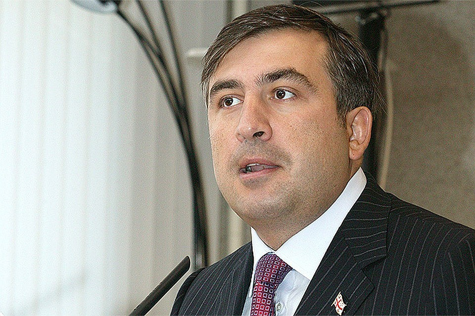 Саакашвили снова стал предметом насмешек в Интернете