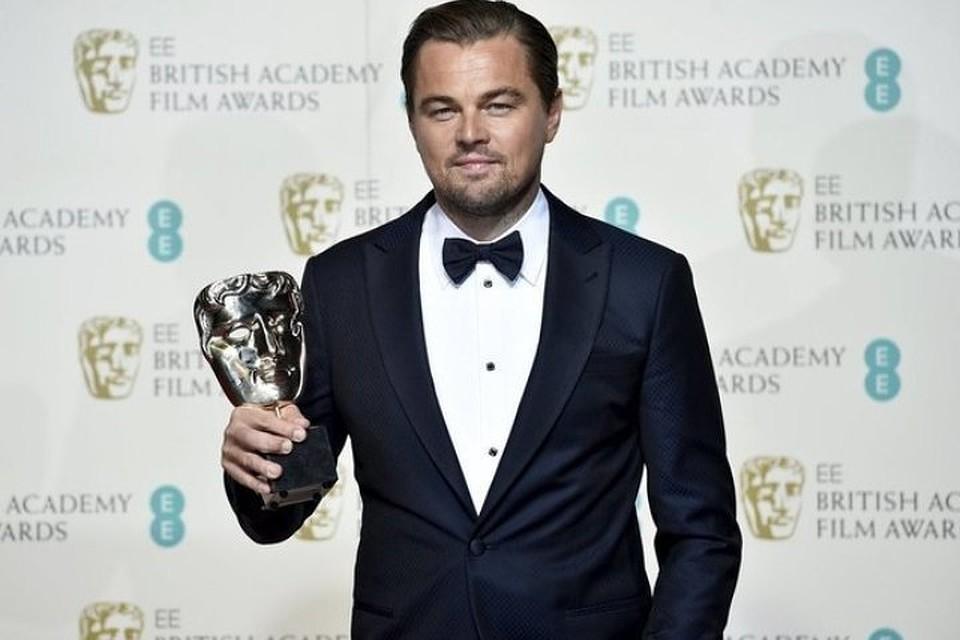 Леонардо Ди Каприо получил премию BAFTA  за роль в в фильме режиссера Алехандро Иньяритту «Выживший»