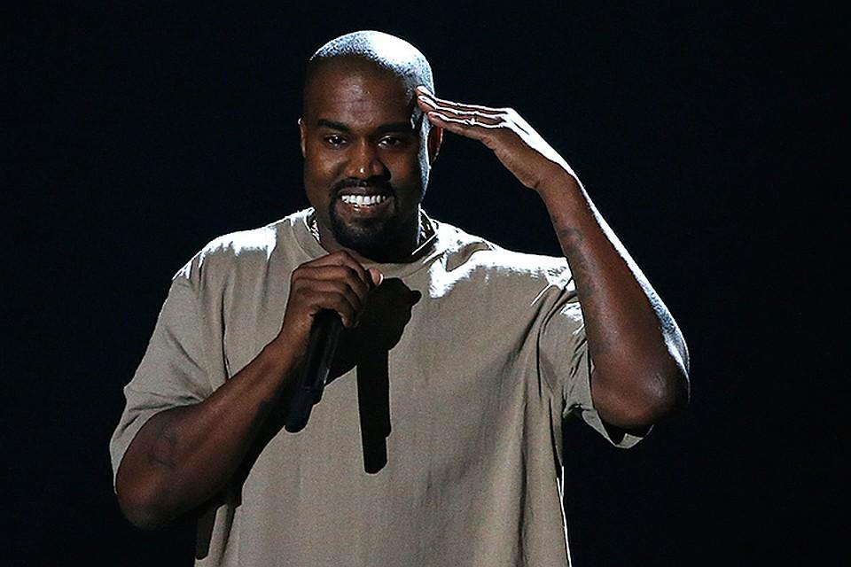 Канье Уэст, один из самых популярных рэпперов на планете
