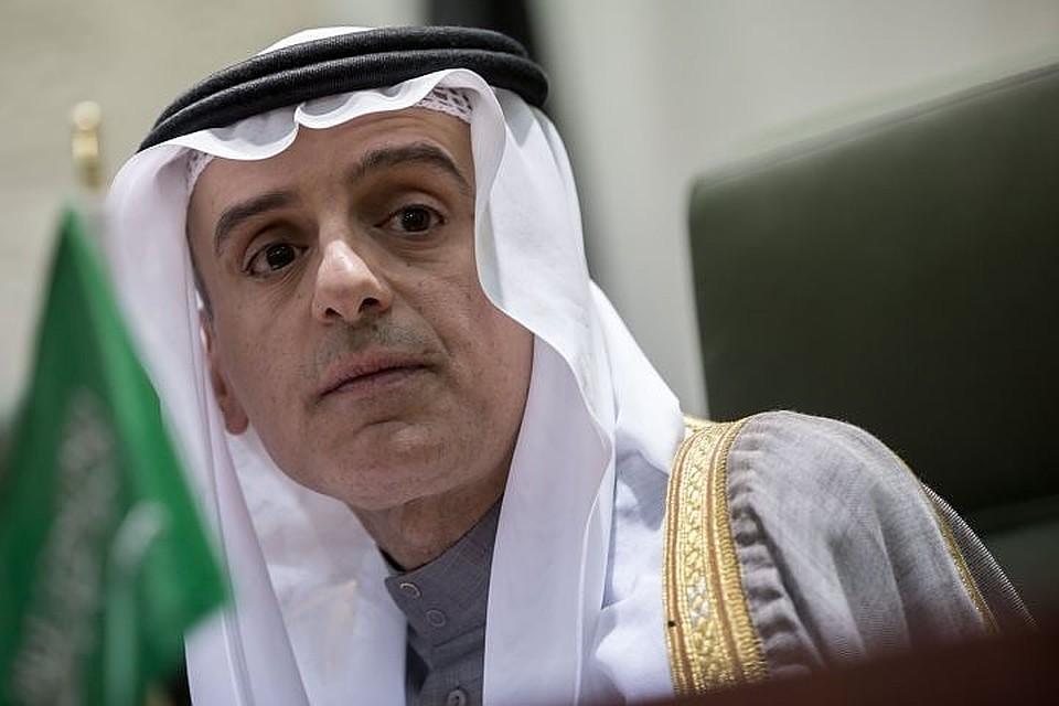 Министр иностранных дел Саудовской Аравии Абдель аль-Джубейр