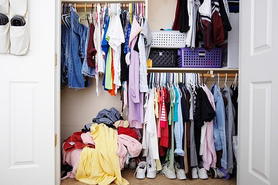 Подготовка одежды к хранению