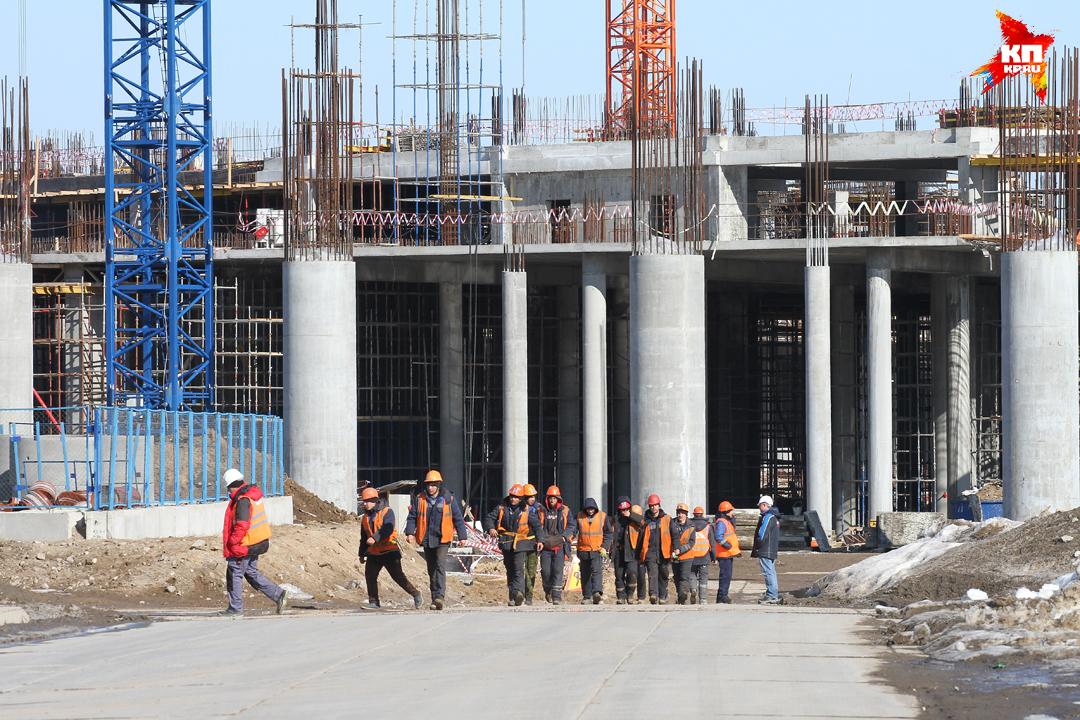 Стадион в Нижнем Новгороде к ЧМ 2018   план, фото