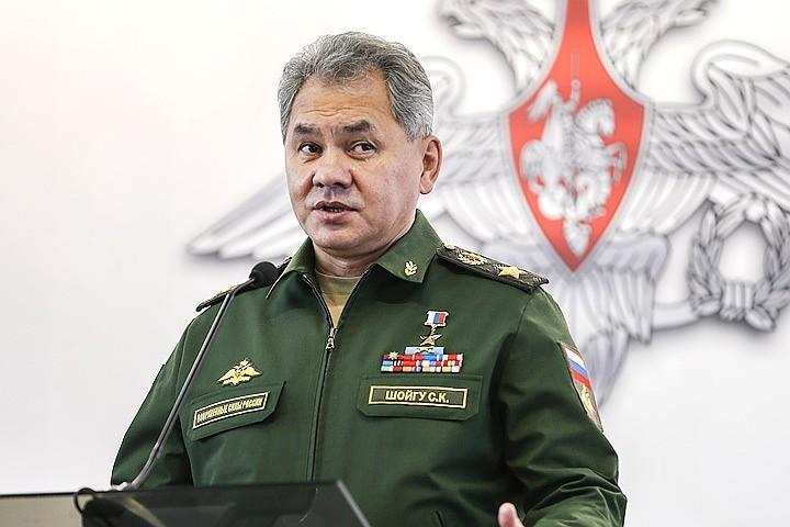 Министр обороны РФ Сергей Шойгу выступит на конференции. Фото: Сергей Савостьянов/ТАСС